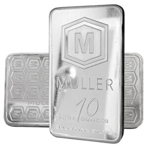 10 oz Muller Silver Bar
