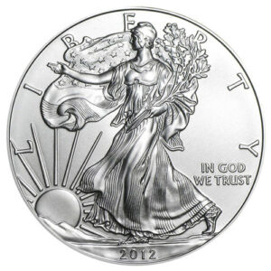 1oz Silver Eagle Backdate