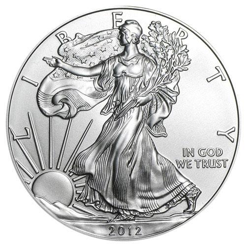 1oz Silver Eagle Backdate