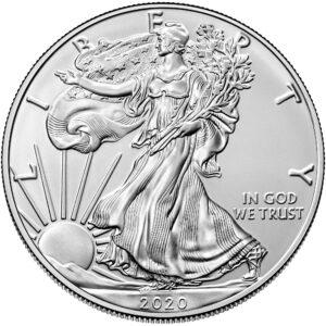 2020 1 oz Silver Eagle