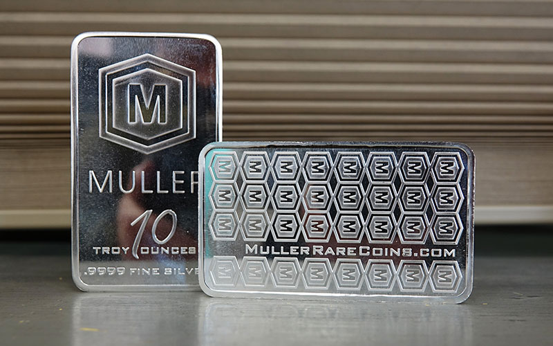 Silver Muller Bars