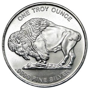 1 oz Silver Buffalo Round